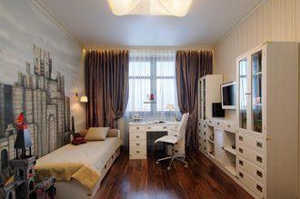 Дизайн интерьера комнаты в Новосибирске