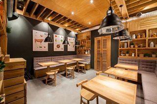 Дизайн интерьера кафе в Новосибирске