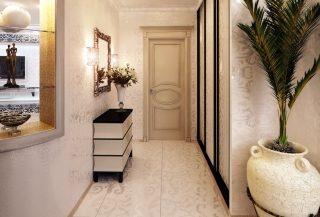 Фото варианты Дизайн коридора в Новосибирске
