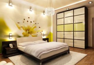 Дизайн спальни в Новосибирске