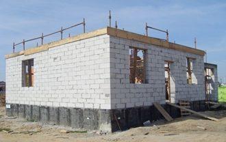 Проекты домов 10 на 10 из газобетона в Новосибирске