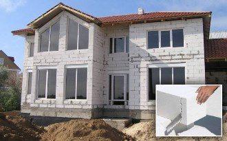 Проекты одноэтажных домов из газобетона