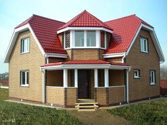 Проекты домов 8х8 из газобетона