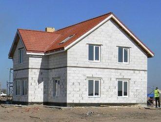 Проекты двухэтажных домов из газобетона