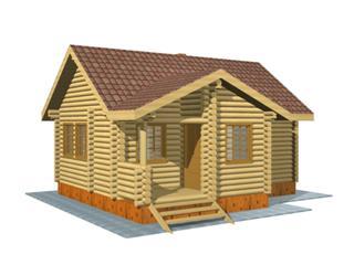 Проекты двухэтажных домов из бревна в Новосибирске