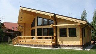 Проекты домов из бруса 8x10