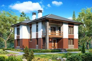 Проекты домов из кирпича до 200 кв.м в Новосибирске