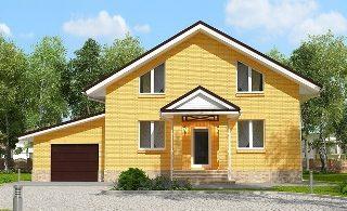 Проекты домов из кирпича 6х12 в Новосибирске