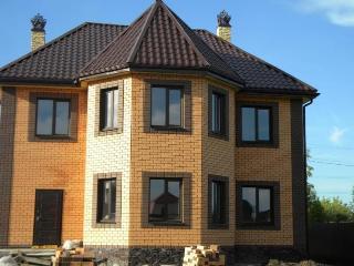 Проекты домов из кирпича 7х9 в Новосибирске