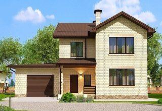 Проекты домов из кирпича 7х10 в Новосибирске