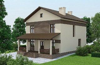 Проекты домов из кирпича 9х10 в Новосибирске