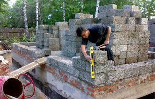 Строительство домов из арболита в Новосибирске под ключ