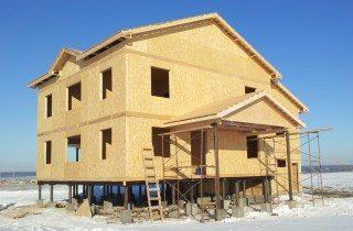 Строительство канадских домов в Новосибирске под ключ