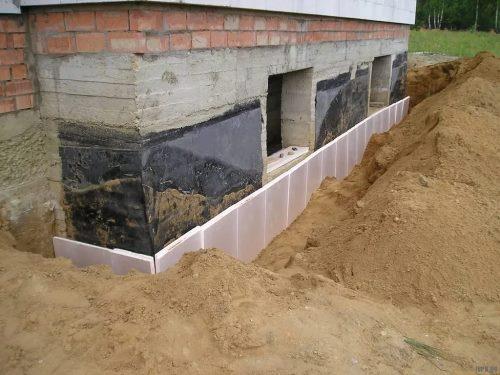 Строительство цокольного фундамент в Новосибирске
