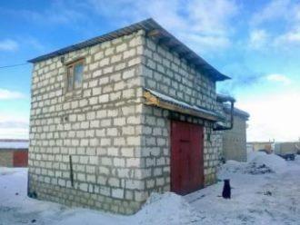 Строительство гаража из газобетона в Новосибирске
