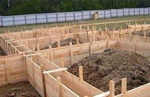Строительство ленточного фундамента в Новосибирске