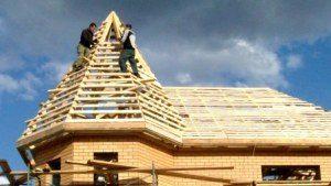 Строительство крыши дома в Новосибирске