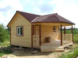 Строительство деревянных бань под ключ в Новосибирске