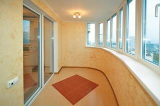 Ремонт балкона под ключ в Новосибирске