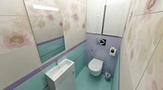 Ремонт туалета под ключ в Новосибирске