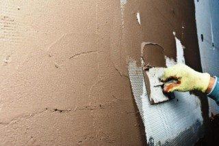Фото процесса Штукатурка стен в Новосибирске