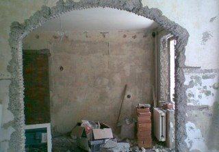 Фото процесса Перепланировка стен в Новосибирске