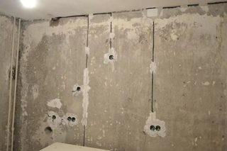Штробление стен в Новосибирске