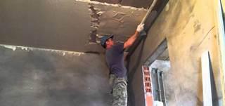 Фото процесса Шпаклевка стен в Новосибирске