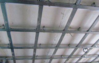Монтаж потолка из гипсокартона в Новосибирске